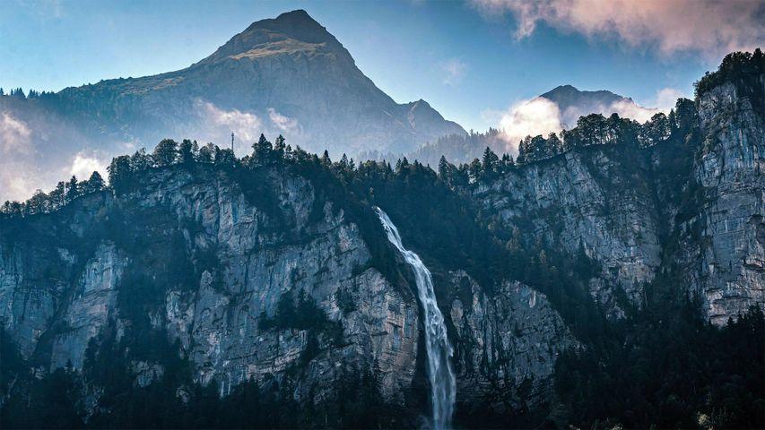 Las cataratas de Reichenbach, en el Oberland bernés, Suiza