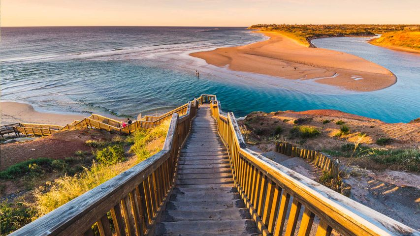 Onkaparinga River, Port Noarlunga, South Australia