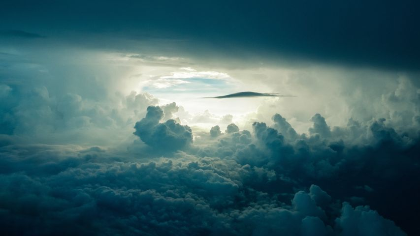 sky clouds outdoor plane cloud nature cloudy airplane