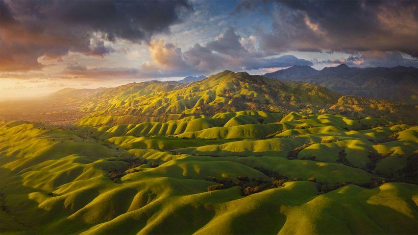 Foothills of the Diablo Range near San Jose, California