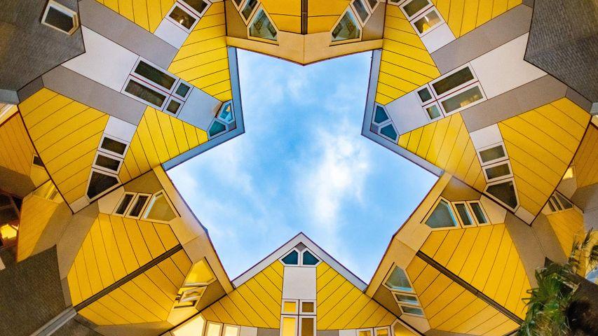 Kubushäuser in Rotterdam, Niederlande