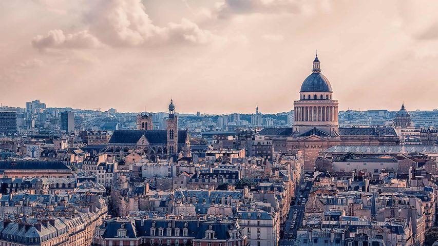 The Panthéon in Paris, France