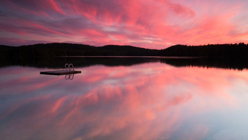 lake sky water landscape cloud outdoor mountain nature