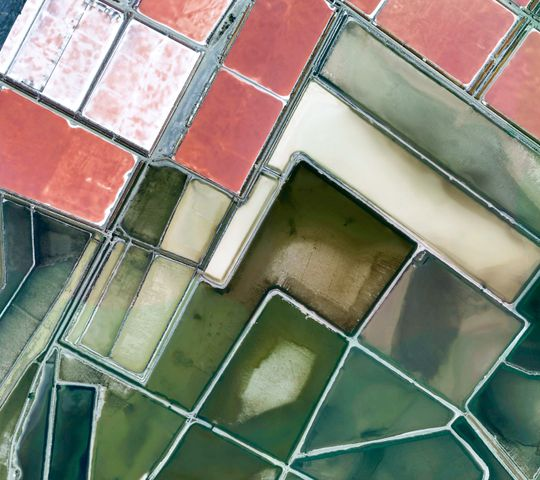 cosmetic building abstract reflection art tile metal window