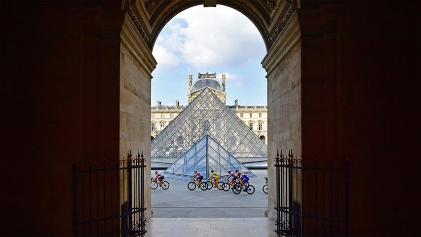 「2020 年のツール・ド・フランス」フランス, パリ